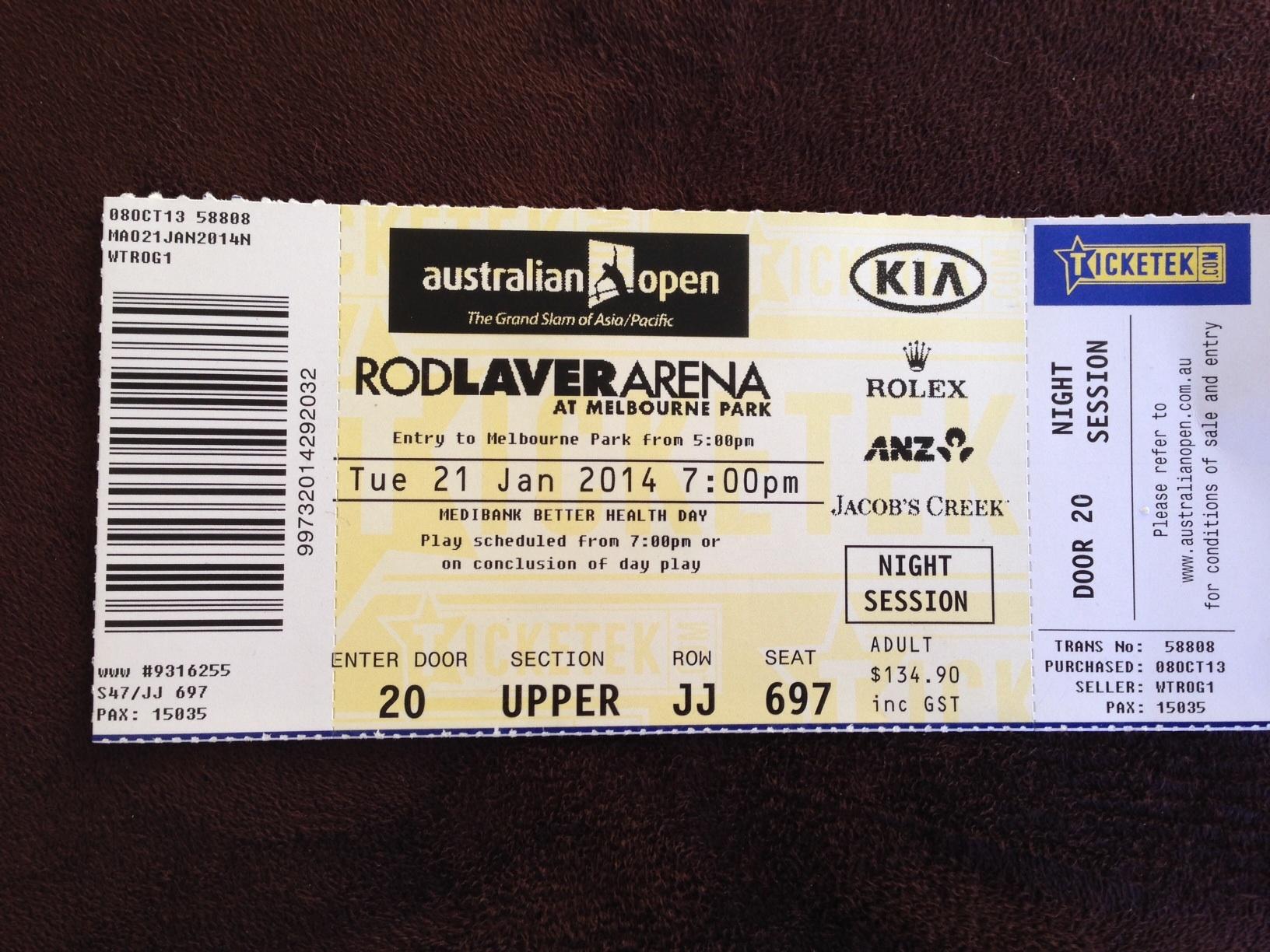 Australian Open 2014 Outsidethesquare101
