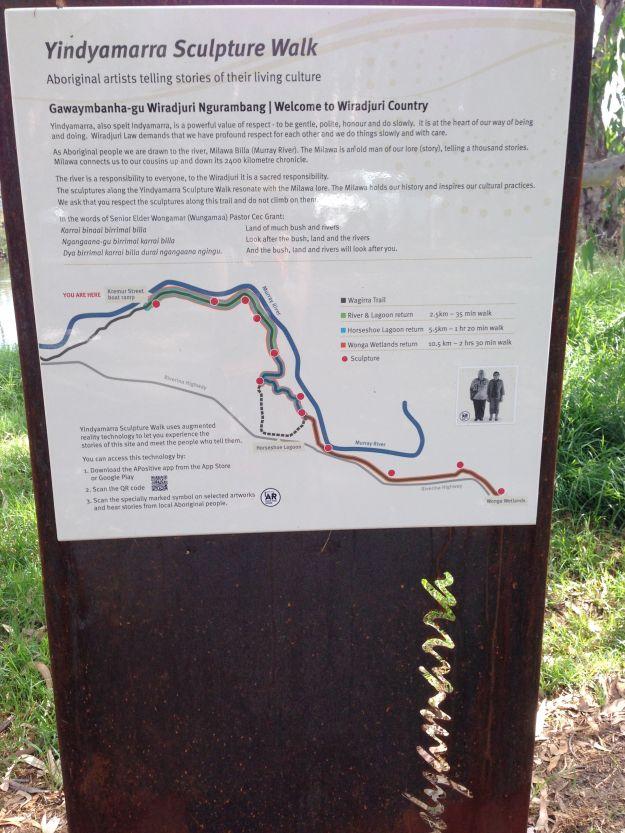 Yindyamurra trail