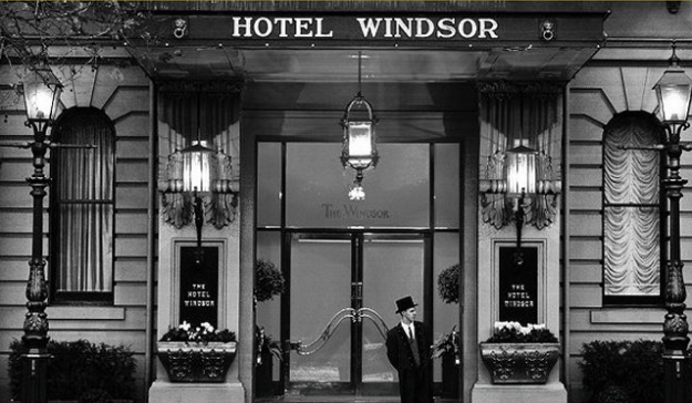 Hotel Windsor B&W
